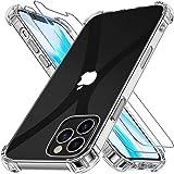 Alexcase Custodia Compatibile con iPhone 12 PRO, Cover Compatibile con iPhone 12, 6.1 Pollici Trasparente