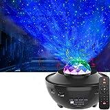 Sterrenhemel projector galaxy, led-sterrenlichtprojector met afstandsbediening & Bluetooth & timer 15 verlichtingsmodi voor s