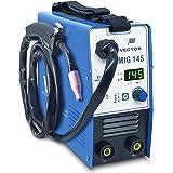 Poste à souder à fil fourré sans gaz - Poste à souder à 145 ampères et fonction de soudage à l'électrode à 140 ampères   Voit