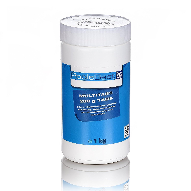 Poolsbest® chlor multitabs 5in1