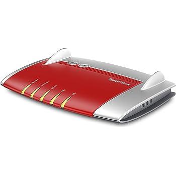 AVM FRITZ!Box 4040 WLAN Router (Kabel-/DSL-/Glasfasermodem, Dual-WLAN AC+N, 866 Mbit/s (5 GHz), 400 Mbit/s (2,4 GHz), 4 x Gigabit-LAN, 1 x USB 3.0, 1 x USB 2.0, Mediaserver, geeignet für Deutschland)