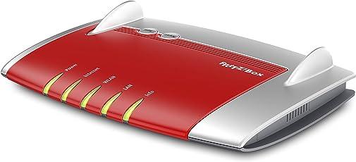 AVM FRITZ!Box4040 WLAN Router (für Anschluss an Kabel-/DSL-/Glasfasermodem, Dual-WLAN AC + N, 866 MBit/s (5 GHz) und 400 MBit/s (2,4 GHz), 4 x Gigabit-LAN, 1 x USB 3.0, 1 x USB 2.0, Mediaserver)