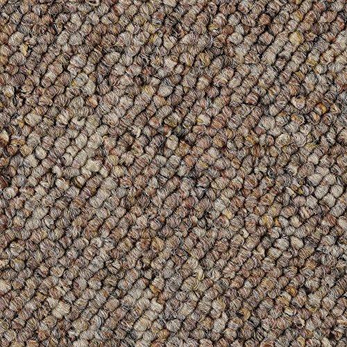 Teppichboden Auslegware | Schlinge gemustert | 200, 300, 400 und 500 cm Breite | braun beige | Meterware, verschiedene Größen | Größe: 1 Muster