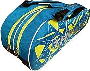 Thrax PX01 Badminton Kit Bag Blue Black and Lime