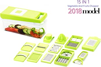 Vivir 15 in 1 Fruits and Vegetable Chopper for Kitchen (Multicolour)
