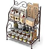 Worthy Shoppee 2 Tier Kitchen Spice Rack Shelf Organizer,