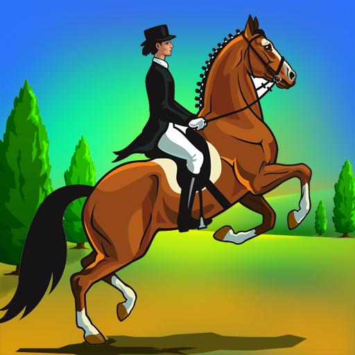 Pferderennen Reit Agilität: das Hindernis Dressur Springen Wahlen - Gratis-Edition