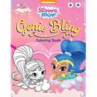 Genie Bling: Coloring Book for Kids (Shimmer & Shine)