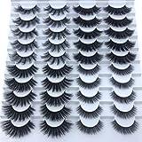 KADIS Eyelashes 3d eyelashes 20 pairs long makeup 3d faux nature fake lashes extension false eyelashes,F070