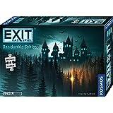 KOSMOS 680787 EXIT Das Spiel + Puzzle - Das dunkle Schloss, Level: Einsteiger, Escape Room Spiel mit Puzzle, für 1 bis 4 Spie