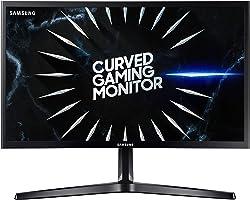 "Samsung Monitor Gaming CRG5 (C24RG52), Curvo (1800R), 24"", 1920x1080 (Full HD), VA, 144 Hz, 4 ms, FreeSync, HDMI, Display Por"