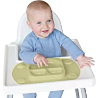 EasyMat Mini Portable Baby Suction Plate (Olive)