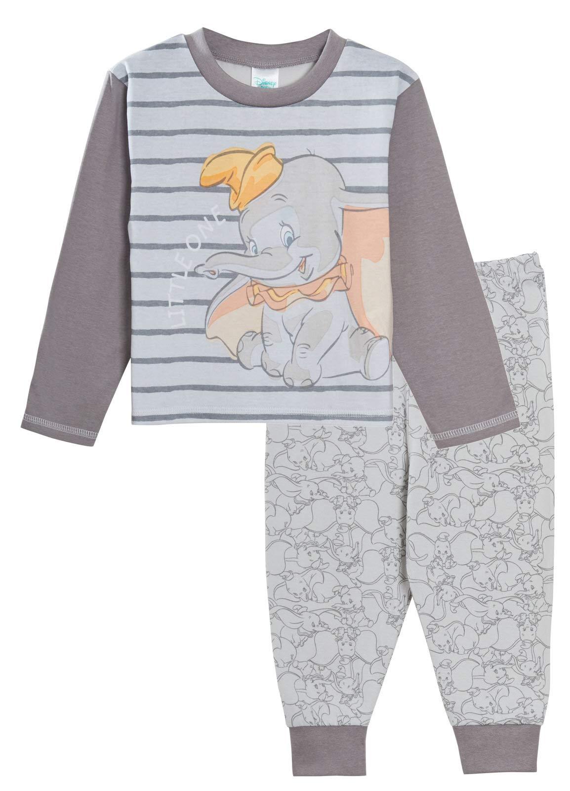 Pijama de Dumbo para bebé, niños y niñas, unisex, juego de pijamas de 2 piezas, de Disney 1