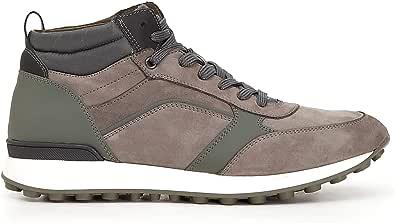 CafèNoir Sneakers-Tronchetti in Nabuk e Tessuto PB780