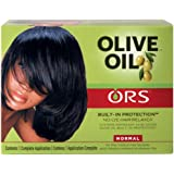 Organic Root Stimulator Normal Olive Oil Relaxer, 1.75 oz.