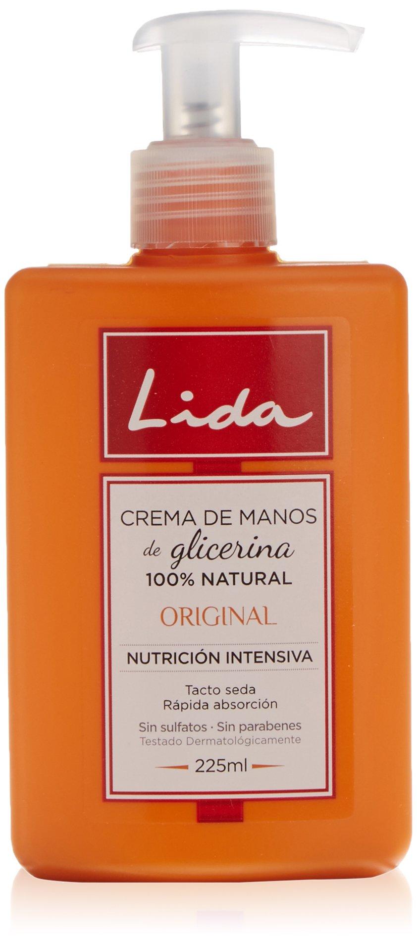 Lida Glicerina Original Crema de Manos – 225 ml
