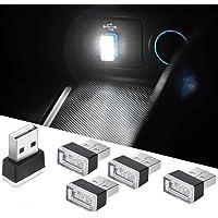 Luci per auto a LED per auto, illuminazione per illuminazione a USB Illuminazione per interni Decorazione per auto (5…