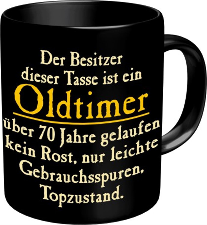Fun Tasse Mit Spruch Oldtimer Zum 70. Geburtstag   70 Jahre: Amazon.de:  Küche U0026 Haushalt