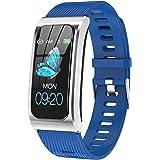 Orologio fitness con misurazione della pressione sanguigna IP68, impermeabile, orologio sportivo da donna, uomo, per iOS e An
