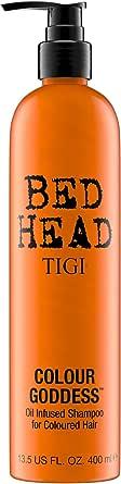 TIGI Bed Head Colour Goddess Oil, Shampoo per Capelli Colorati