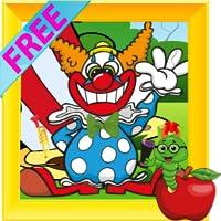 Clown drôle Objets Cachés