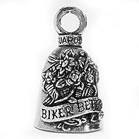 Guardian® Biker Betty in fiori motorcycle Biker Luck Gremlin riding Bell