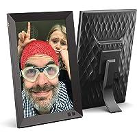 NIX 10.1 Inch Digital Picture Frame (Non WiFi), Portrait or Landscape Stand, HD Resolution, Auto-Rotate, Remote Control…