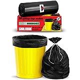 Shalimar Premium OXO - Biodegradable Garbage Bags (Medium) Size 48 cm x 56 cm 6 Rolls (180 Bags) (Dustbin Bag/Trash Bag) (Bla