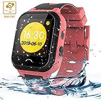 Vannico Smartwatch Bambini, Orologio Intelligenti Per Bambini LBS IP67 Anti-goccia Con SOS Anti-perso Touch Screen Del…