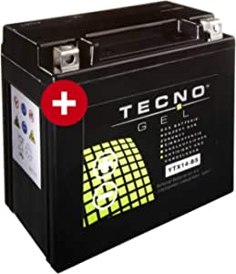 Tecno Ytx14 Bs Gel Batterie R 1200 R Abs 2007 2014 Auto