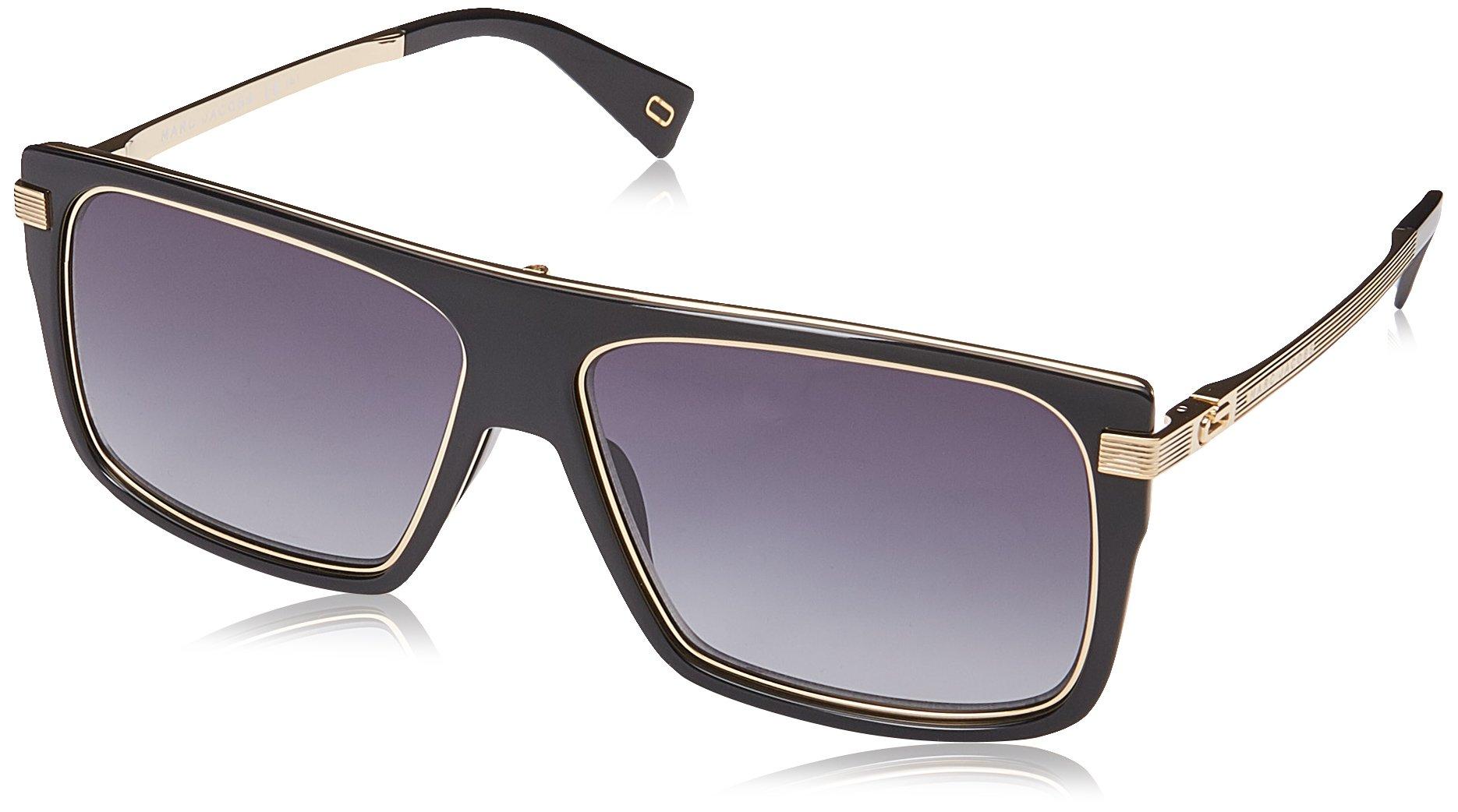 Marc Jacobs Marc 242/S 9O 2M2 59 Gafas de Sol, Negro (Black Gold/Brown), Hombre