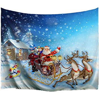 Home & Garden Original Christmas Theme Tapestry Xma Tree Wall Hanging Blanket Home Christmas Decoration Tablecloths Sofa Covers Outdoor Placemats Selling Well All Over The World Home Textile
