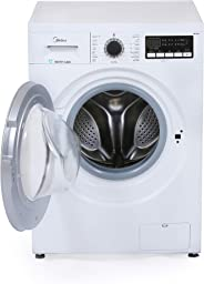 Midea MFG80 Front Load Fully Automatic Washing Machine 8Kg 1400RPM White