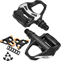 TacoBey Road Bike Pedals Cleats Set for Shimnao SPD Clipless Pedals, Lightweight Self-Locking Cycling Pedals for Shimnao…