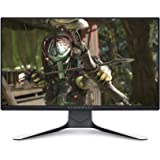 DELL AW2521HFL, 25 Pulgadas, Alienware Gaming Monitor, Full HD 1920 x 1080 a 240 Hz, IPS antirreflectante, 16:9, Compatible c