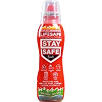 StaySafe 5-in-1 Fire Extinguisher, Best Extinguisher for Home, Car, Work, Camping, Caravan, Boat - extinguishes 5 types…