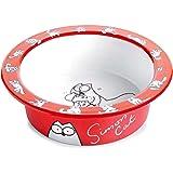 Karlie Flamingo Bol pour chat Simon's Cat - Rouge