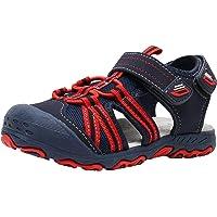 Ahannie Kids Boys Gilrs Outdoor Sport Sandals,Toddler/Little Kid Closed Toe Summer Beach Sandals