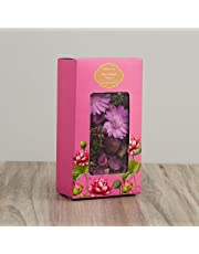 Home Centre Blossom Floral Potpourri Box - Purple