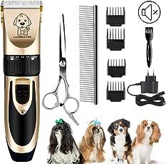 UEOTO Katze Hund Schermaschine Trimmer Fellpflege Tierhaarschneider Haarschneider