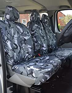 PREMIUM FULL CAR SEAT COVER SET RED PIPING 99-06 L200 DBL CAB