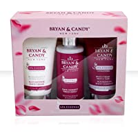 Bryan & Candy New York Spa Essence Kit (Body Wash, Shampoo and Body Lotion)