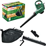 Aspirateur/Souffleur/Broyeur de feuilles Bosch - UniversalGardenTidy 3000 (3 000 W, sac de collecte de 50 L, vitesse variable