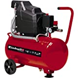Einhell Compressor TC-AC 190/24/8 (1500 W, 8 bar, 24 L tank, olie gesmeerd, terugslagklep en veiligheidsventiel, manometer, s