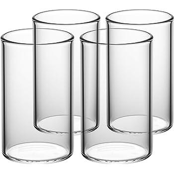 c3cf499f98dff8 GAIWAN Lot de 4 verres à eau de haute qualité, style « I » verres ...