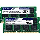 Timetec 16GB KIT(2x8GB) Compatible for Apple DDR3 1333MHz PC3-10600 for Mac Book Pro (Early/Late 2011 13/15/17 inch), iMac(Mi