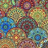20 Serviette Mustermix Orient Indien Gotisch 25 x25 cm 3-lagig, 1/4 gefaltet auf 12,5x12,5 cm