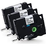 Anstore Labeltape voor Brother TZ231 TZ-231 TZE231 TZE-231 P-Touch 1010 1000 s d400 h100lb 900 PTOUCH tape kleurlint 12mm bre