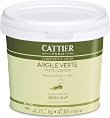 Cattier, Argilla verde pronta all'uso, 1,350 kg