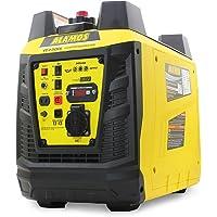 Tragbarer Generator Wechselrichter 2,3KW Stromerzeuger Notstromaggregat Stromaggregat Digitaler Generator…